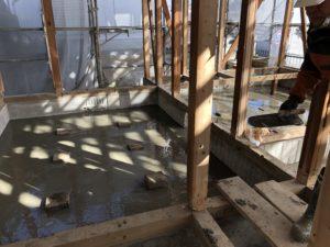 防湿コンクリート 星のリノベーション