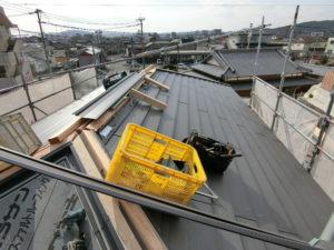 屋根工事 ガルバニウム 星のリノベーション